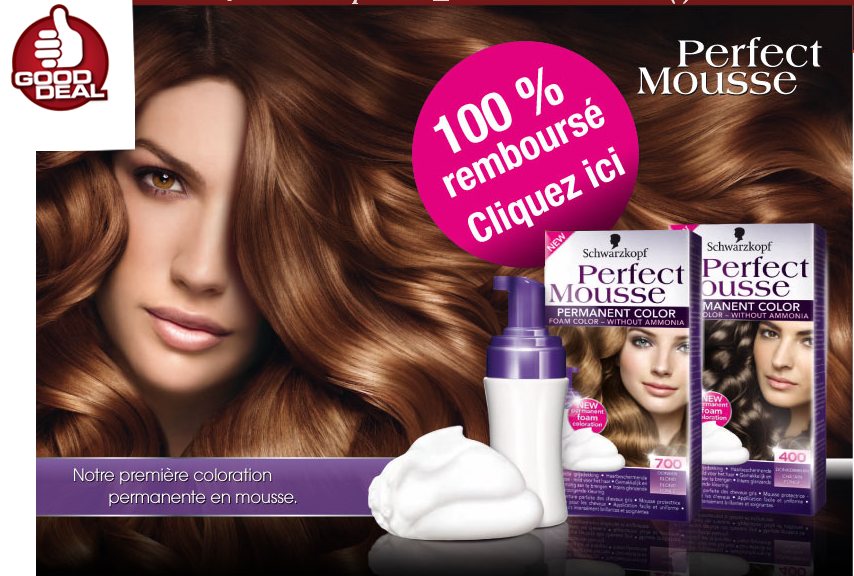 coloration schwarzkopf perfect mousse 310311 - Coloration Schwarzkopf